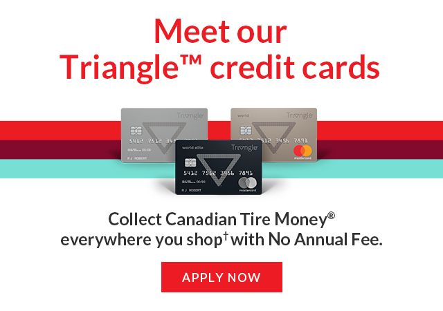 Meet Our Triangle Credit Cards Apply