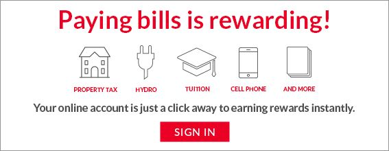 Paying Bills is Rewarding!