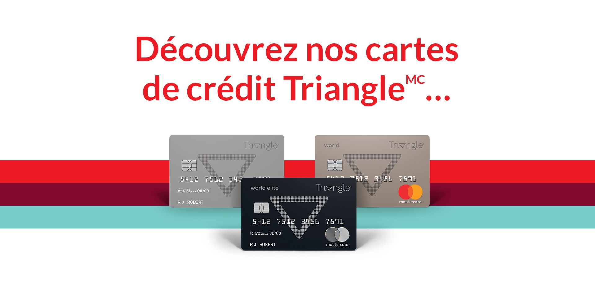 voici cartes triangle