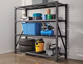 View All Garage And Storage Shelves