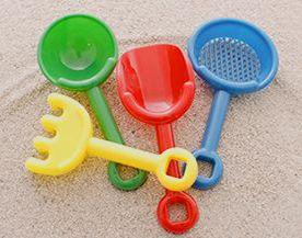 Jouets pour la plage