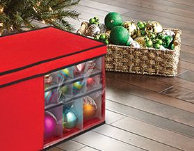 Christams Ornament & Light Storage