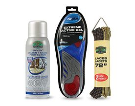 Laces, Insoles, Cleaners & Accessories