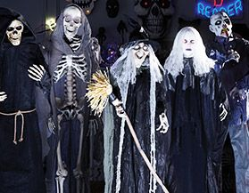 Animated Halloween Ghouls