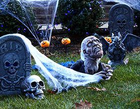Halloween Lawn & Tree Decor