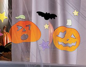 Halloween Window Clings & Decals