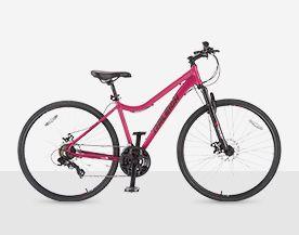 Shop hybrid bikes.