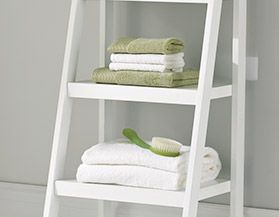 Bathroom Storage Shelves & Space Savers