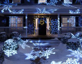 christmas projection lights - Christmas Vacation Lawn Decorations