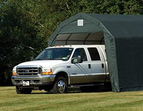PORTABLE CAR SHELTERS & GARAGES