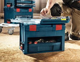 BOSCH TOOL BOXES & STANDS