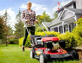 TROY-BILT LAWN MOWERS