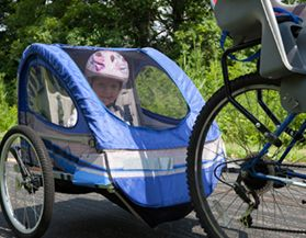 Shop bike trailers and seat carriers