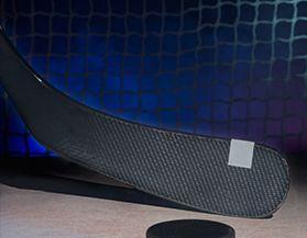 Bâtons de hockey, composite