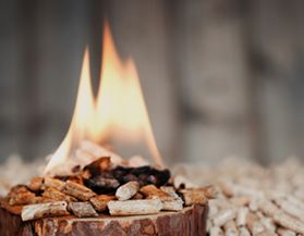 Fire Logs, Wood Pellets & Fire Starters