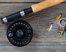 Fly Fishing Rods, Reels & Combos