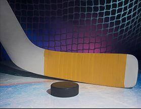 Bâtons de hockey, gardien