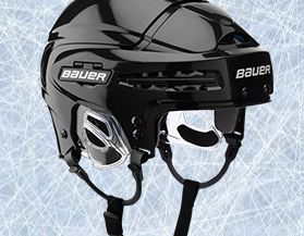 Casques de hockey
