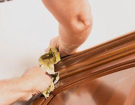 Entretien du bois d'intérieur