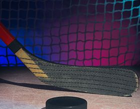 Bâtons de hockey, bois