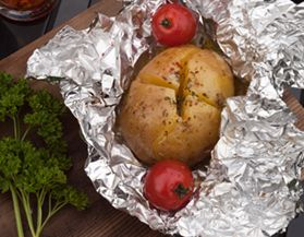 Pellicule, papier d'aluminium et sacs d'aliments