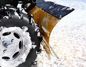 Chasse-neiges et accessoires pour VTT