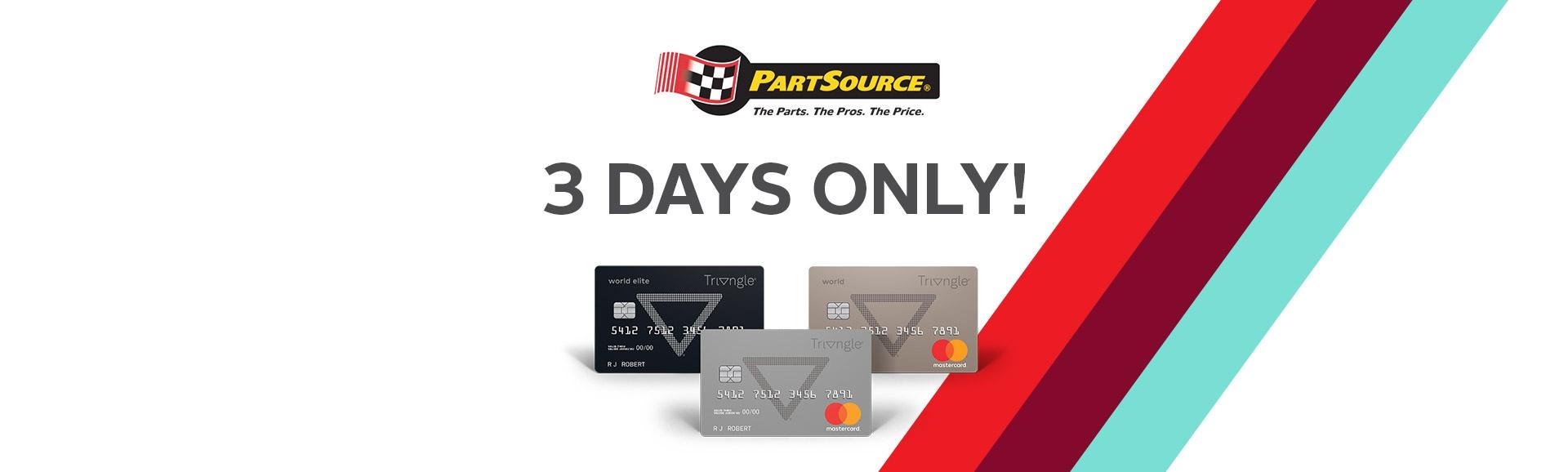 PartSource Promotions