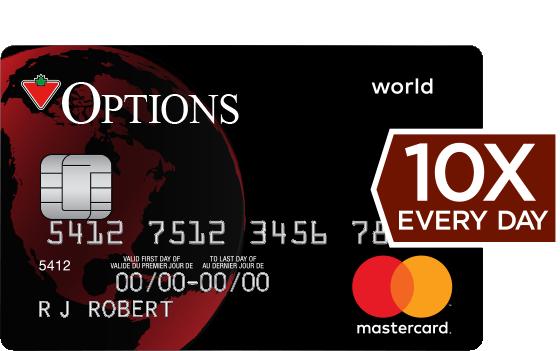 Mastercard Option