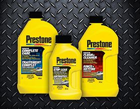 Prestone Cooling System Additives
