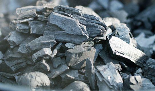 Shop lump charcoal