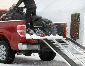 Snowmobile Loading Ramps