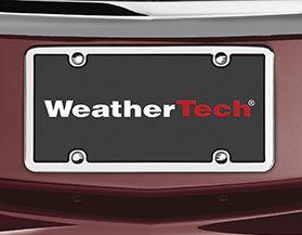 WeatherTech License Plate Frames & Fasteners