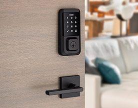 Electronic door locks handles