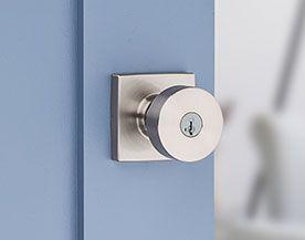Entry door locks handles
