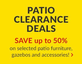 Patio Clearance Deals
