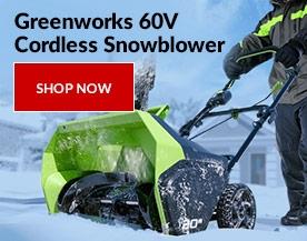 Greenworks 60V Cordless Snowblower
