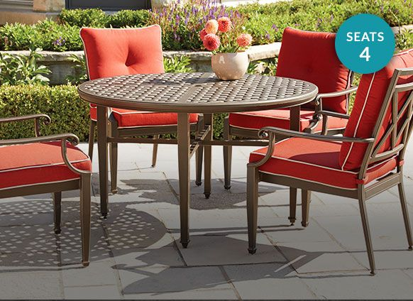 Canvas Coventry Hills Dining Collection, Resin Wicker Patio Furniture Canadian Tire