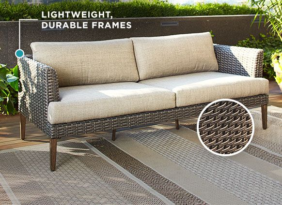 Jensen Conversation Collection By, Resin Wicker Patio Furniture Canadian Tire