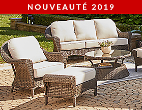 Collection de meubles de jardin CANVAS Summerhill