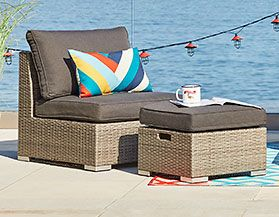 Contemporary Patio Furniture & Décor