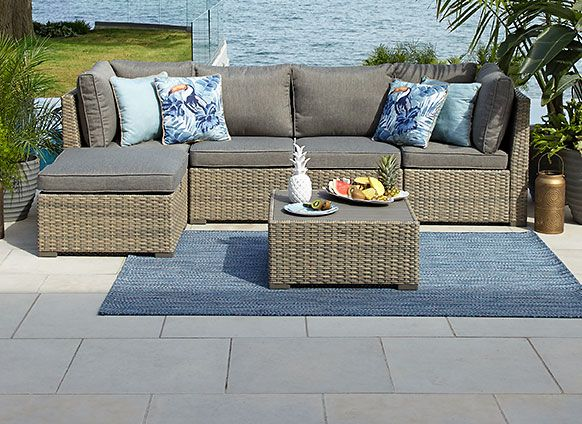 CASUAL PATIO FURNITURE