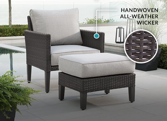 Renfrew Conversation Collection By, Resin Wicker Patio Furniture Canadian Tire