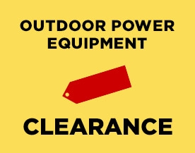 Outdoor Power Equipment Clearance