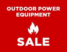Outdoor Power Equipment Sale