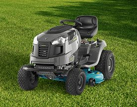 Lawn Tractors, Riding Mowers & Attachments
