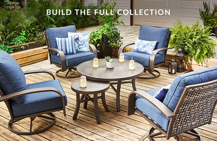 Clareview Patio Furniture Collection By, Resin Wicker Patio Furniture Canadian Tire