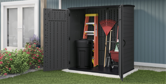 Outdoor Storage Keep your furniture and tools stored safely for the season with our selection of storage solutions. SHOP NOW