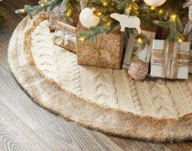 Cache-pieds, supports et accessoires pour arbre de Noël