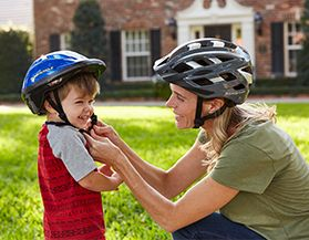 Shop for bike helmets & safety accessories