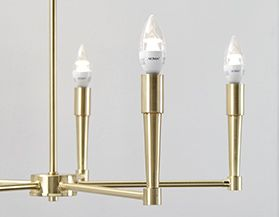 Shop NOMA candelabra light bulbs.